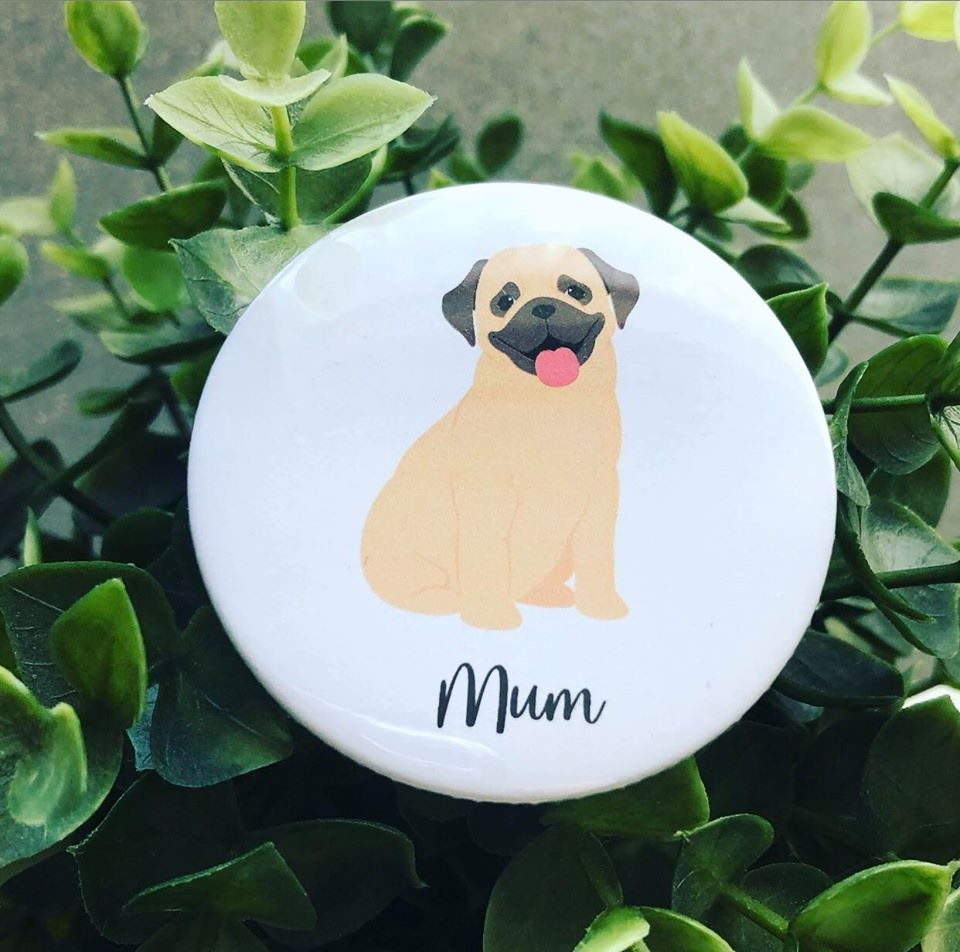 'Dog Mum' Badge