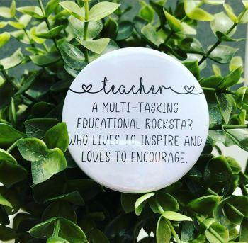 'Teacher' Description