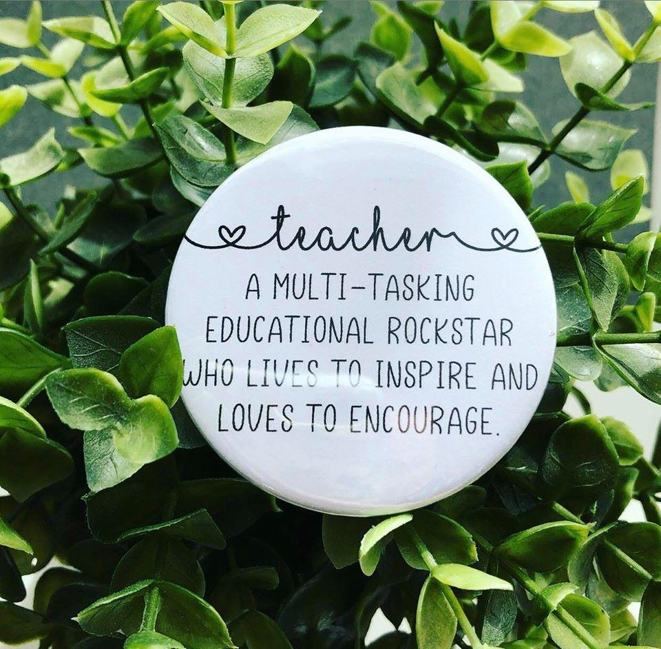 'Teacher' Description Badge
