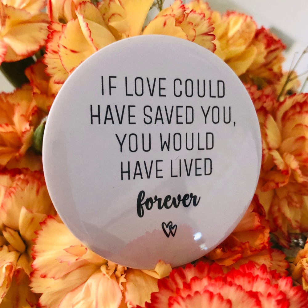 'If Love Could Have Saved You' Magnet