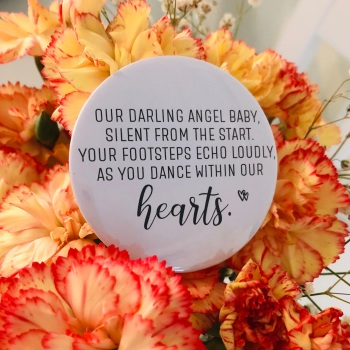 'Our Darling Angel Baby' Magnet