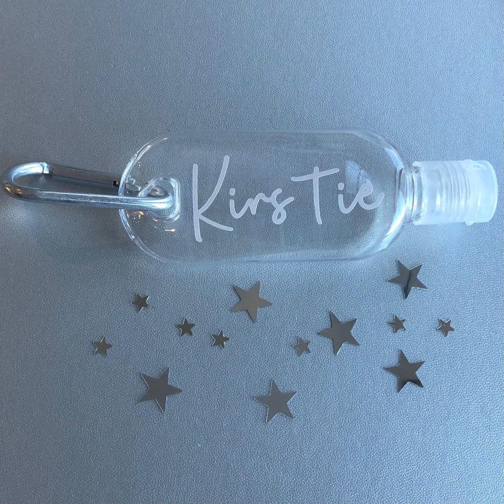 Personalised Hand Sanitiser Bottle