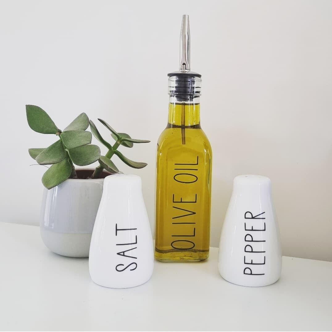 'Oliver Oil' Pouring Glass Bottle 170ML