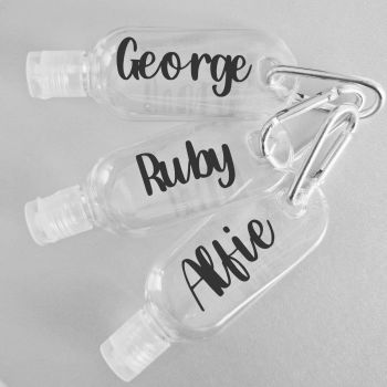 Personalised Hand Sanitiser Bottle