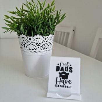 'Cool Dads Have Beards' Phone Stand