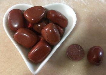 Red Jasper tumblestone - grounding