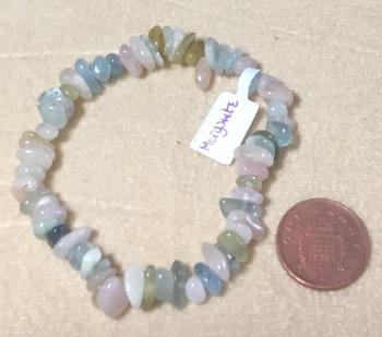 Morganite Bracelet - peace bringing