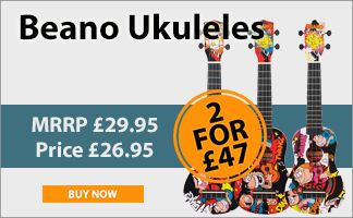 Beano Ukuleles two for £47