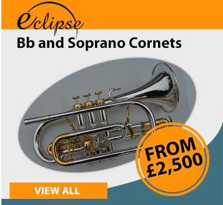 Eclipse Bb and Soprano Cornets