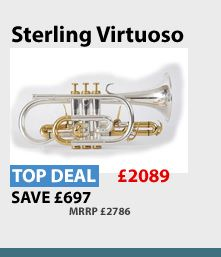 Sterling Virtuoso Cornet