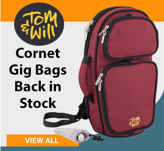 Tom and Will Cornet Gig Bags Back in Stock