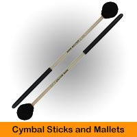 Cymbal Sticks and Mallets