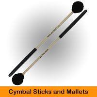 Cymbal Sticks and Mallets