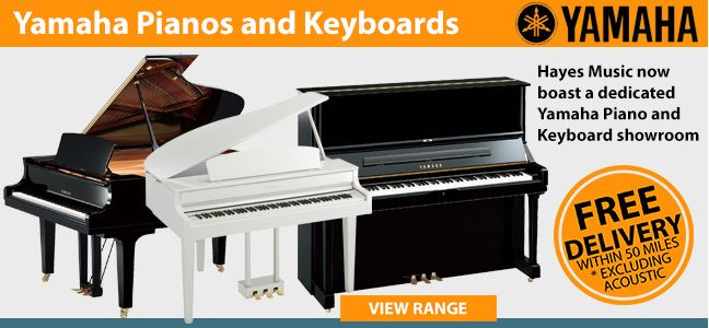 Yamaha Pianos and Keyboards