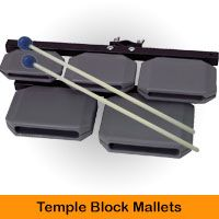 Temple Block Mallets