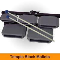 Temple Block Mallets