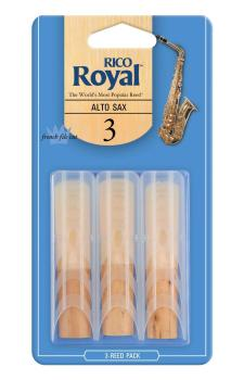 Rico Royal Alto Sax 3.0 - 3 Pack