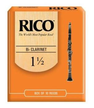 Rico Bb Clarinet Reed 1.5 - Bx 10