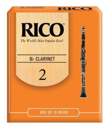 Rico Bb Clarinet Reed 2.0