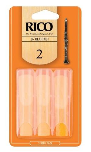 Rico Bb Clarinet Reed 2.0 - 3 Pack