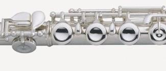 Pearl 505E Pearl Flute: E-mechanism, offset G