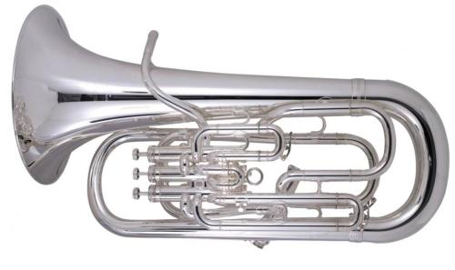 Besson BE968-2-0 Sovereign Euphonium in Silver Plate