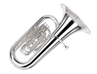 Besson BE982-2-0 Sovereign EEb Tuba in Silver Plate