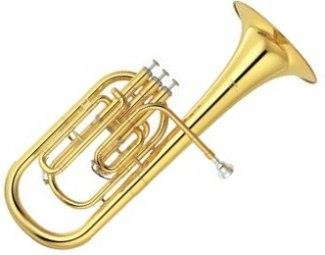 Yamaha YAH203 Student Tenor Horn in Lacquer