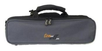Tom & Will Flute gig bag, Grey/black