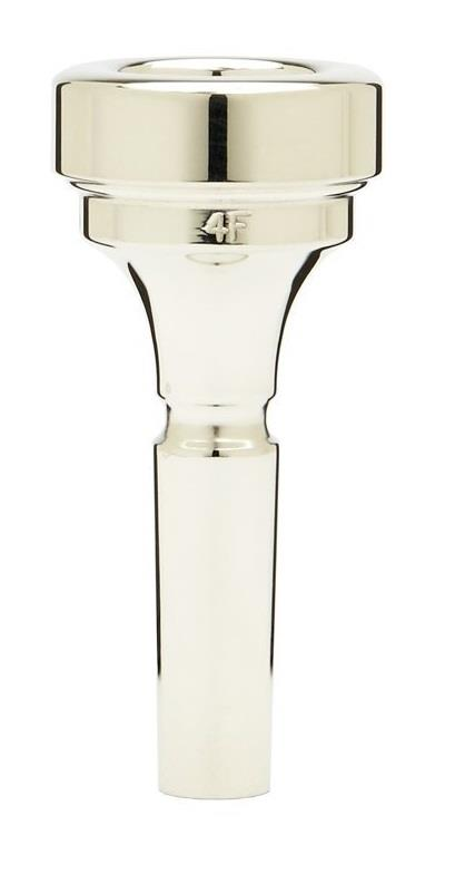 Denis Wick Flugelhorn silver plated mouthpiece 4F
