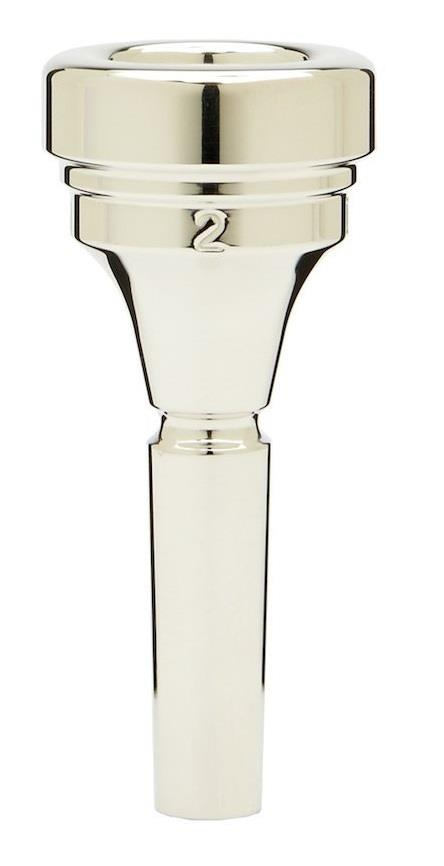Denis Wick Tenor Horn silver plated mouthpiece 2