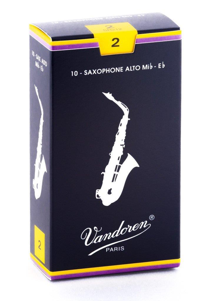 Vandoren Alto Sax Reed (Box 10)