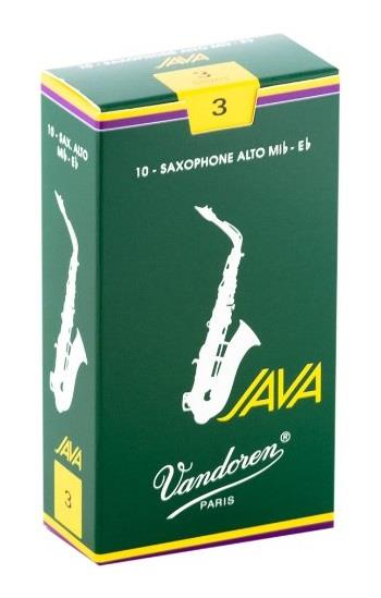 Vandoren Alto Sax Java Reed (Box 10) - Strength 3.0