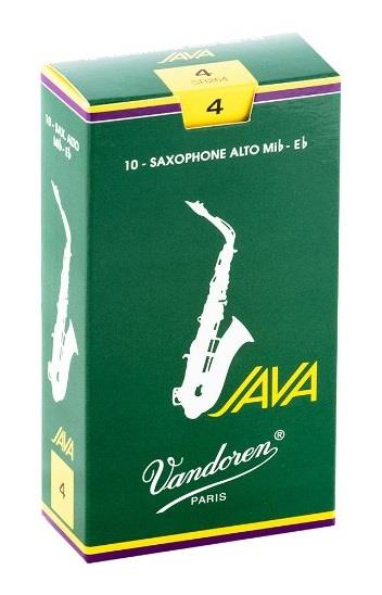 Vandoren Alto Sax Java Reed (Box 10) - Strength 4.0