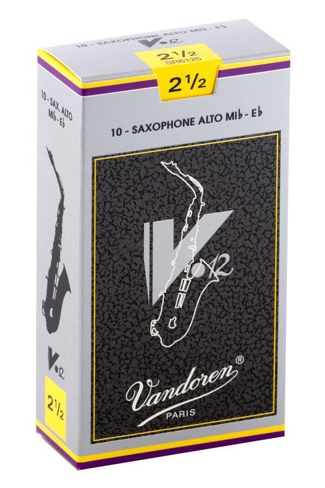 Vandoren V12 Alto Sax Reed (Box 10)