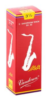 Vandoren Tenor Sax Java Red Cut Reed 3.5 (Box 5)