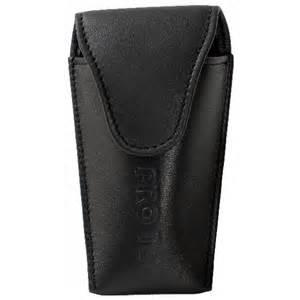 Pro Tec Deluxe Leather Single Mouthpiece Pouch (Large)