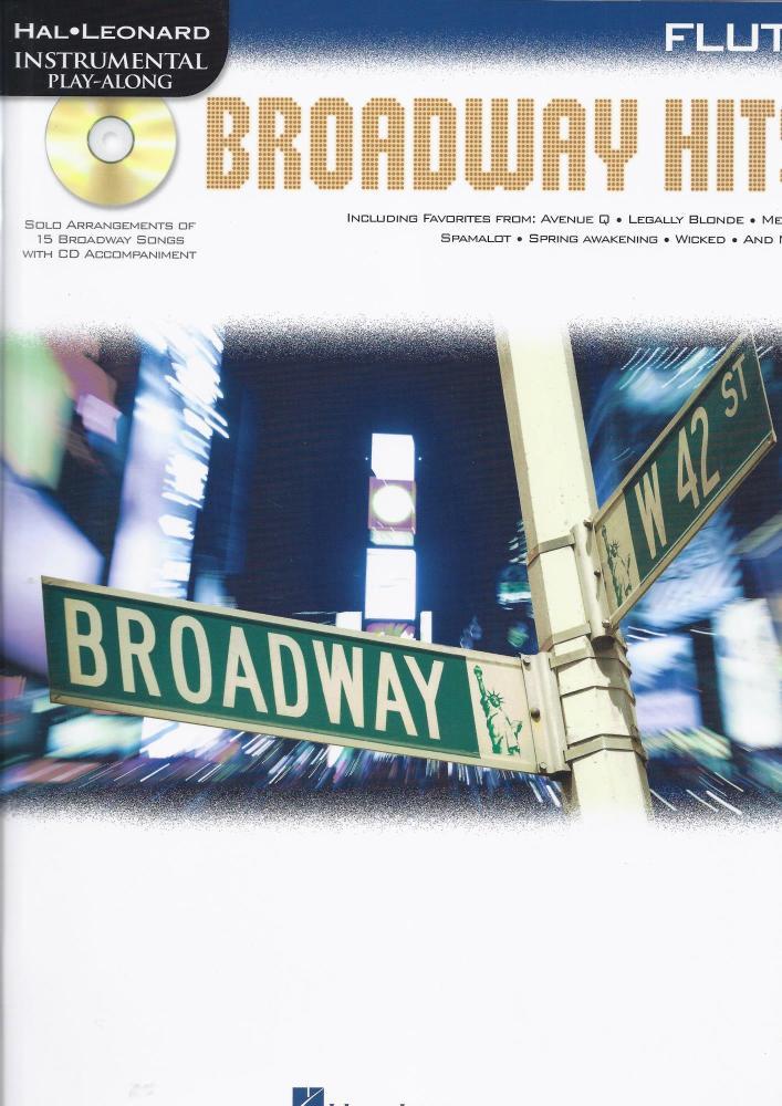 Flute Play-Along: Broadway Hits