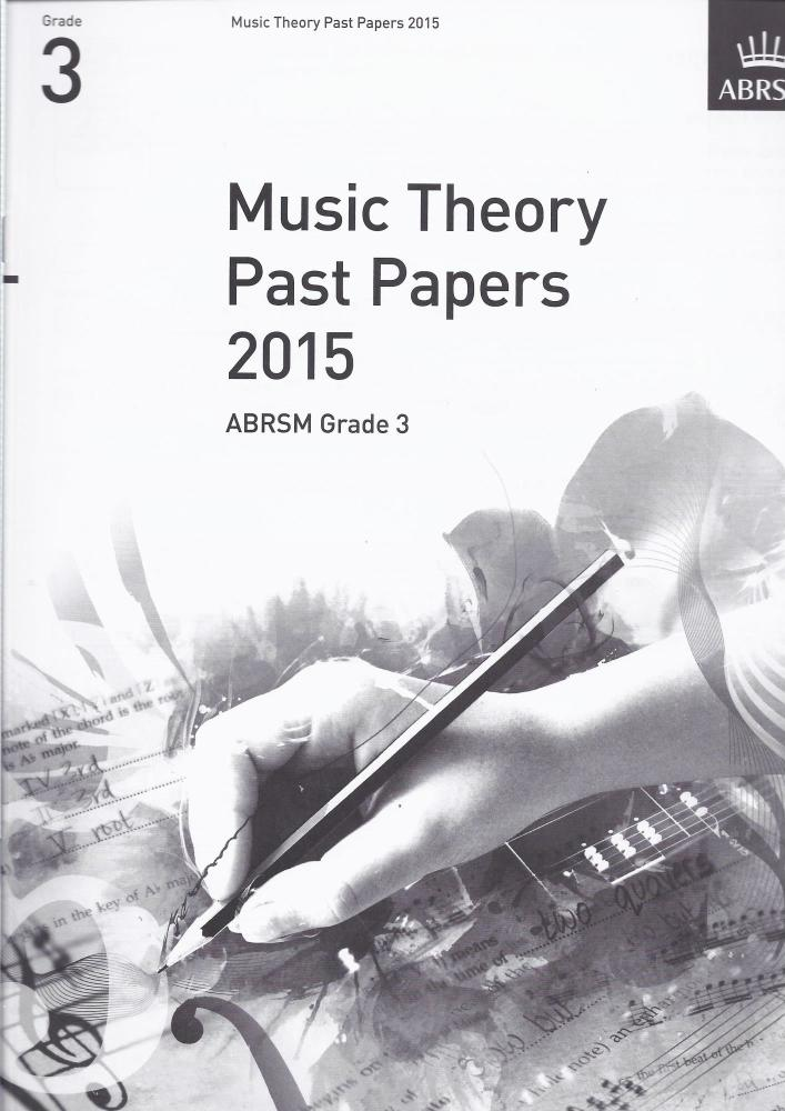 ABRSM Music Theory Past Papers 2015 - Grade 3