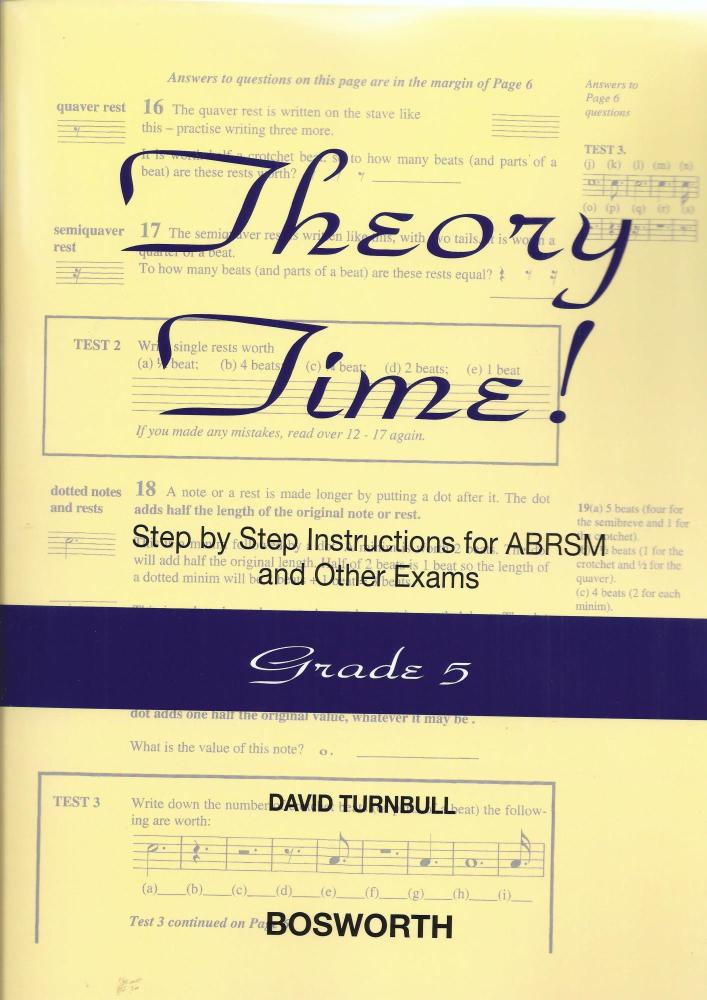 David Turnbull: Theory Time - Grade 5