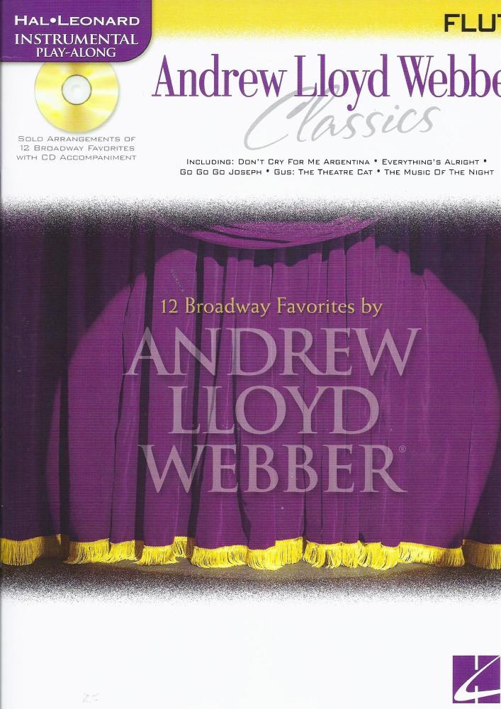 Instrumental Play-Along: Andrew Lloyd Webber Classics (Flute)