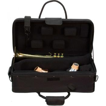 IPAC Single/Double Trumpet Case - Black