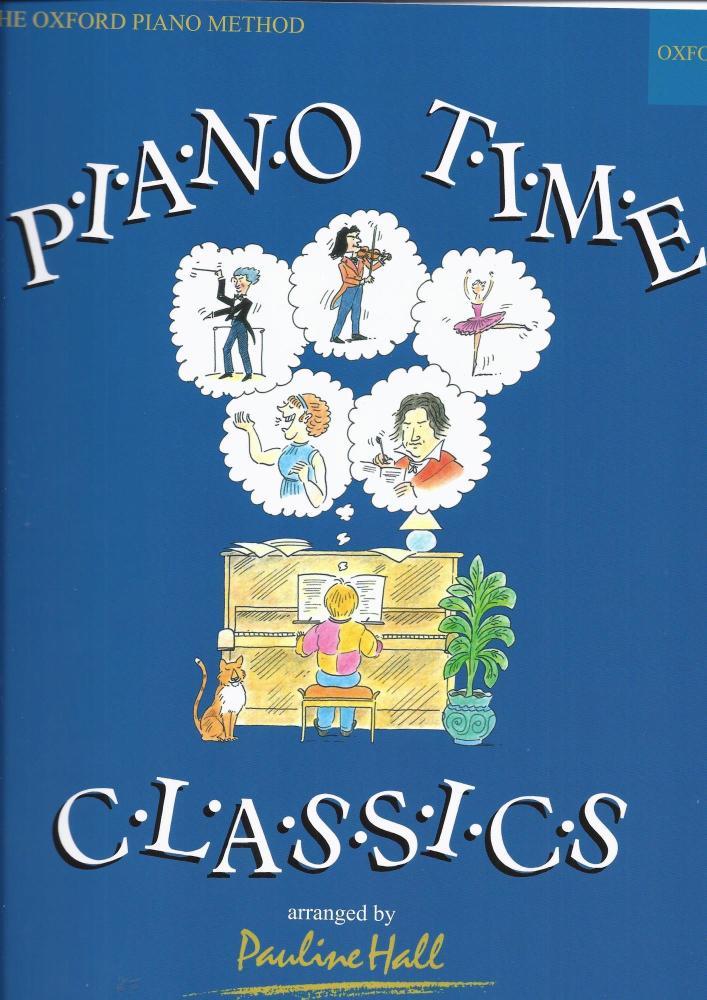Pauline Hall: Piano Time Classics