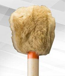 CBD5-Orange Trim (Rollers) Mallet - Concert Bass Drum