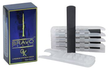 BRAVO Synthetic GK Bb Clarinet Reed 1.5  (5 Pack)