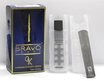 BRAVO Synthetic GK Alto Sax Reed 1.5  (5 Pack)