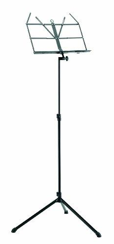 K&M Butterfly folding Music Stand - Black