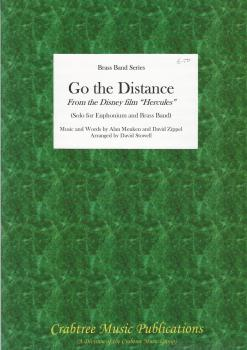 Go the Distance from 'Hercules' for Solo Euphonium and Brass Band (Score Only) - Alan Menken/David Zippel, arr. David Stowell