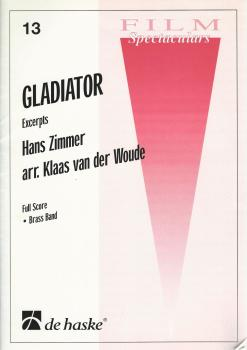 Gladiator Excerpts for Brass Band (Score Only) - Hans Zimmer, arr. Klaas van der Woude