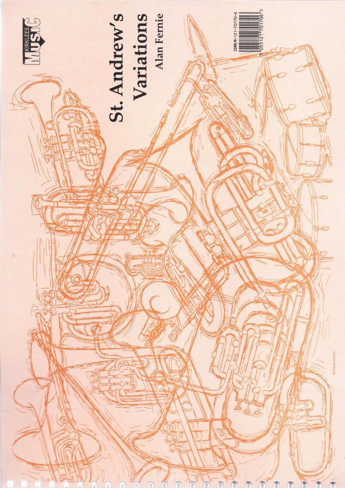 St. Andrews Variation (Score Only) for Brass Band arr. Alan Fernie